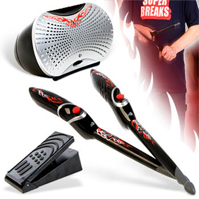 Mijam Air Drummer - Your Motion Activated Air Drumsticks